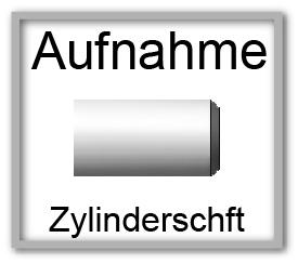 Zylinderschaft-Halter
